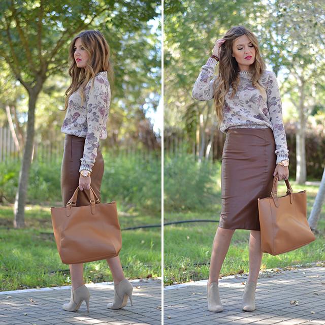 Ver mas en: http://www.miaventuraconlamoda.com/2013/10/pencil-skirt.html