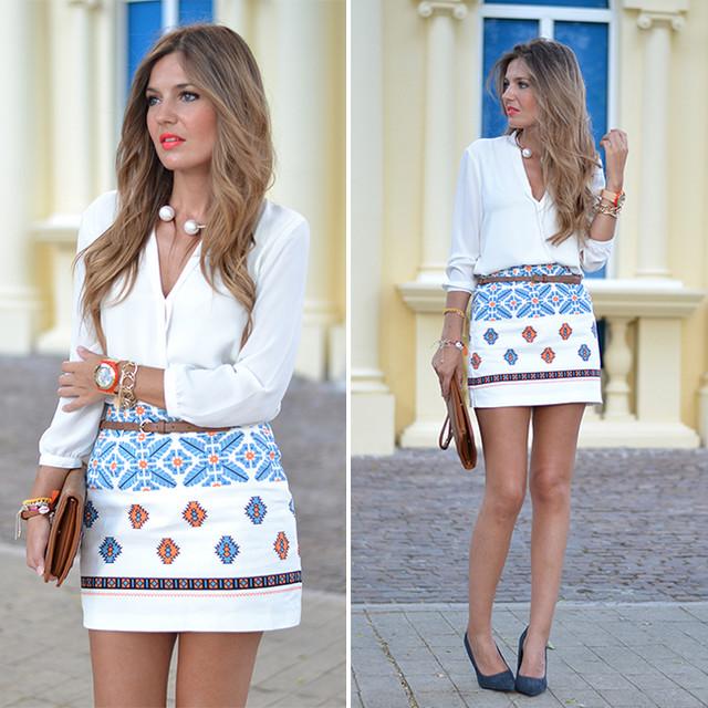 Detalles del look en: http://www.miaventuraconlamoda.com/2014/06/vintage-pattern-printing-skirt.html