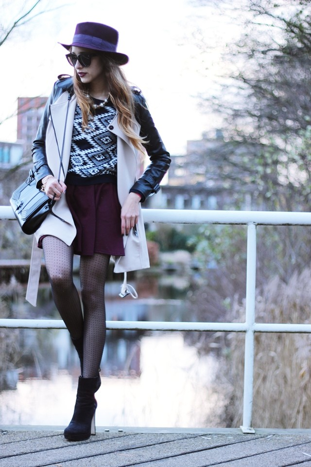 for more info and pictures please be free to check out my blog:<br />http://www.preppyfashionist.com/2012/12/burgundy-leather.html