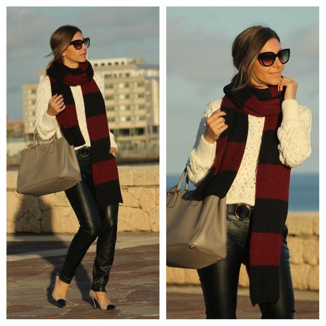 { blog post  } http://www.well-living-blog.com/2013/12/maxi-scarf.html